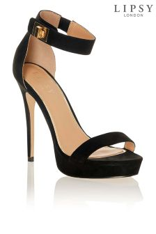 Lipsy Two Part Lock Platform Sandals