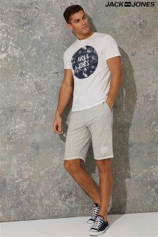 Jack & Jones Printed Logo Sweat Shorts