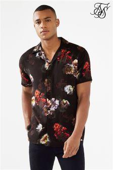 قميص طباعة زهور من Siksilk