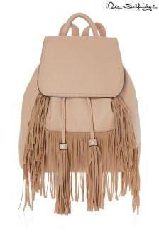 Miss Selfridge Fringe Backpack