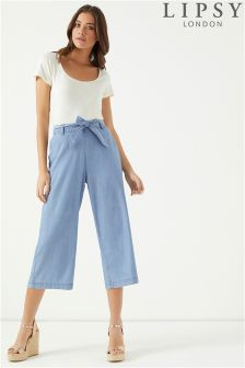 Lipsy Lightweight Denim Culottes