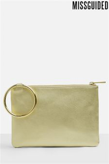 Missguided Ring Clutch Bag