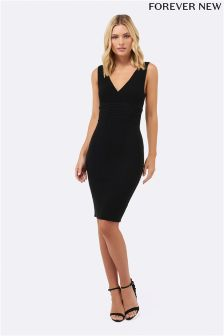Forever New V neck Bodycon Dress