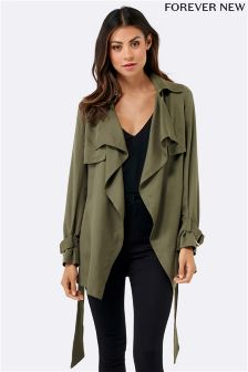 Forever New Soft Waterfall Mac Jacket