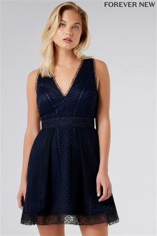 Forever New Lace Mini Ball Dress