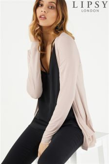 Lipsy Pocket Front Long Sleeve Cardigan
