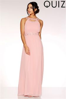 Womens Sweetheart Neck Fishtail Maxi Party Dress Quiz mcy7H