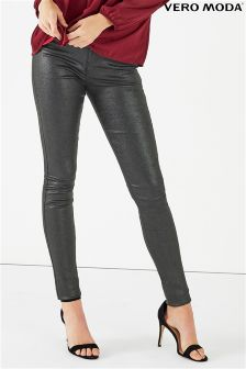 Vero Moda Glitter Slim Fit Trousers