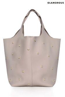 Glamorous Pearl Slouch Hobo Bag