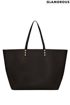 Glamorous Pearl Embellished Tote Bag