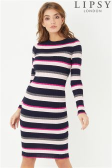 Lipsy Stripe Midi Dress