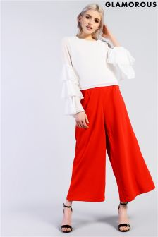 Glamorous High Waisted Culotte Trousers