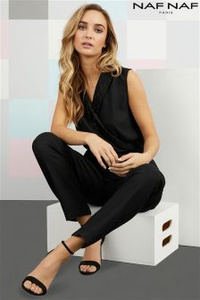 Naf Naf Sleeveless Jumpsuit