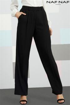 Широкие брюки Naf Naf