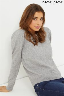 Naf Naf Puff Shoulder Jumper