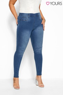 """Yours Curve 30""""  Pull On Bum Shaper Lola Jeggings"""