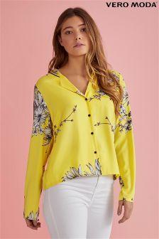 Vero Moda Button Down Pyjama Style Shirt