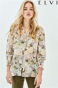 Elvi Floral Print Shirt