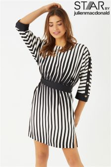 Star By Julien Macdonald Mono Stripe Tunic