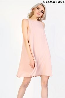 Glamorous Sleeveless Smock Dress