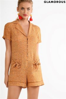 Glamorous Petite Floral Playsuit