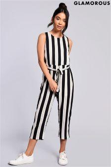 Glamorous Stripe Jumpsuit