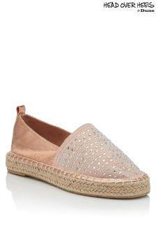 Head Over Heels Embellished Espadrille
