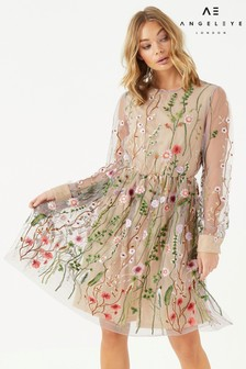 Angeleye Floral Lace Dress