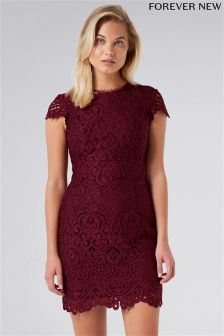 Forever New Shift Lace Mini Dress