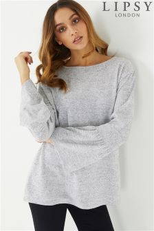 Lipsy Flute Sleeves Top