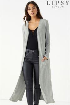 Lipsy Longline Maxi Long Sleeve Cardigan