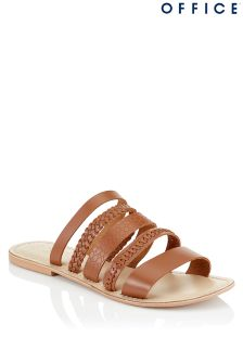Office Multi Strap Slide Sandals