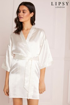 Lipsy Satin Bridal Robe