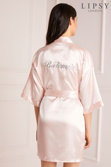 Lipsy Satin Bridesmaid Robe