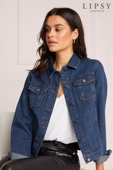 Lipsy Dark Wash Denim Jacket