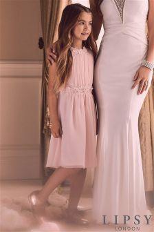 Lipsy Layla Pearl Prom Dress
