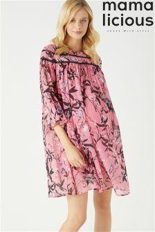 Mamalicious Maternity Fiorella Woven Short Dress