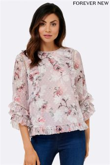 Forever New Frill Blouse