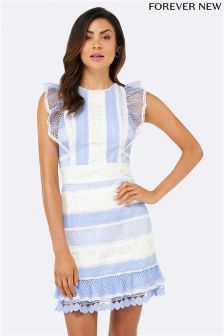 Forever New Spliced Lace Dress