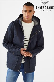 Threadbare Mens Bonded Parka With Hood