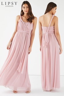Lipsy Petite Bella Mesh Multiway Maxi Dress