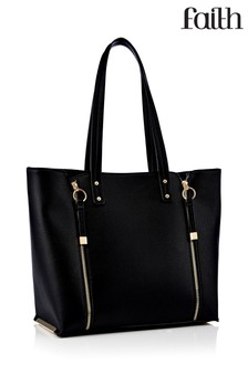 Faith Double Zip Shopper Bag