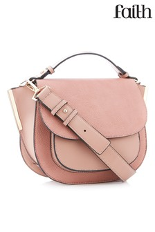 Faith Wing Saddle Cross Body Bag