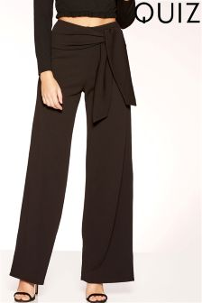 Quiz Wide Leg Trousers