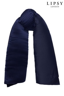 Lipsy Lightweight Pleated Wrap Scarf