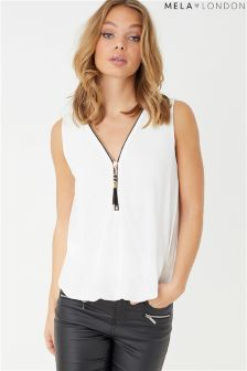 Mela London Sleeveless Blouse