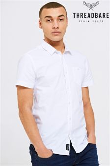 Threadbare Oxford Short Sleeve Shirt