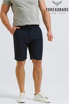 Threadbare Shorts aus Leinengemisch