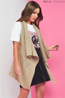 Mela London Button Gilet Cardigan