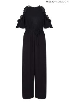 Mela London Side Frill Jumpsuit